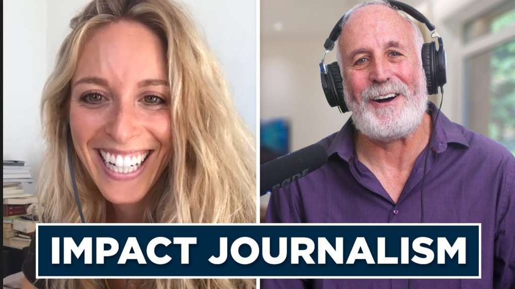 Innovator and Influencers Podcast: Impact Journalism and Sustainability with global journalist  Cyrielle Hariel