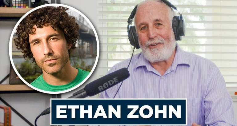 Influencers and Innovators Podcast:  Ethan Zohn: From Reality Star to Philanthropist